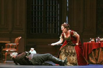 Dining with the Devil: Opera Carolina's Tosca