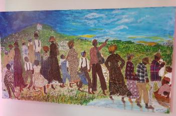 Through My Eyes: Ashford's Art Finds Joy in Crisis