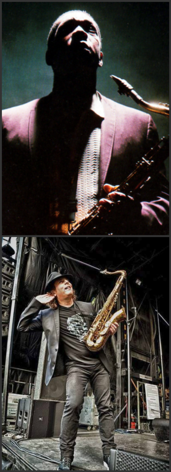 John Coltrane and Boney James; both jazz?